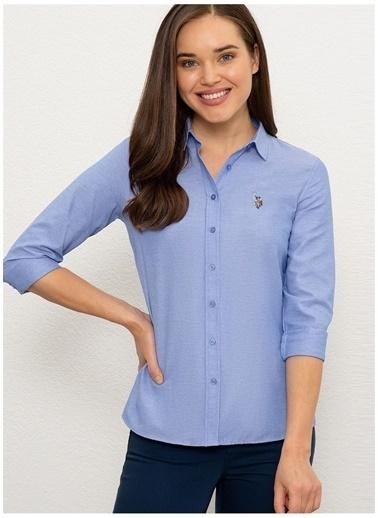 U.S. Polo Assn. U.S. Polo Assn.  Koyu Mavi Gömlek Mavi